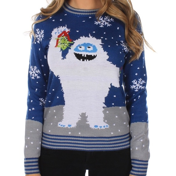 8fc1401a5942 Abominable Snowman Ugly Christmas Sweater. M 5bfa78409fe48625af3bc83d